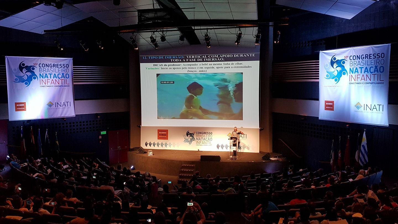 10ª Edição do Congresso Brasileiro de Natação Infantil