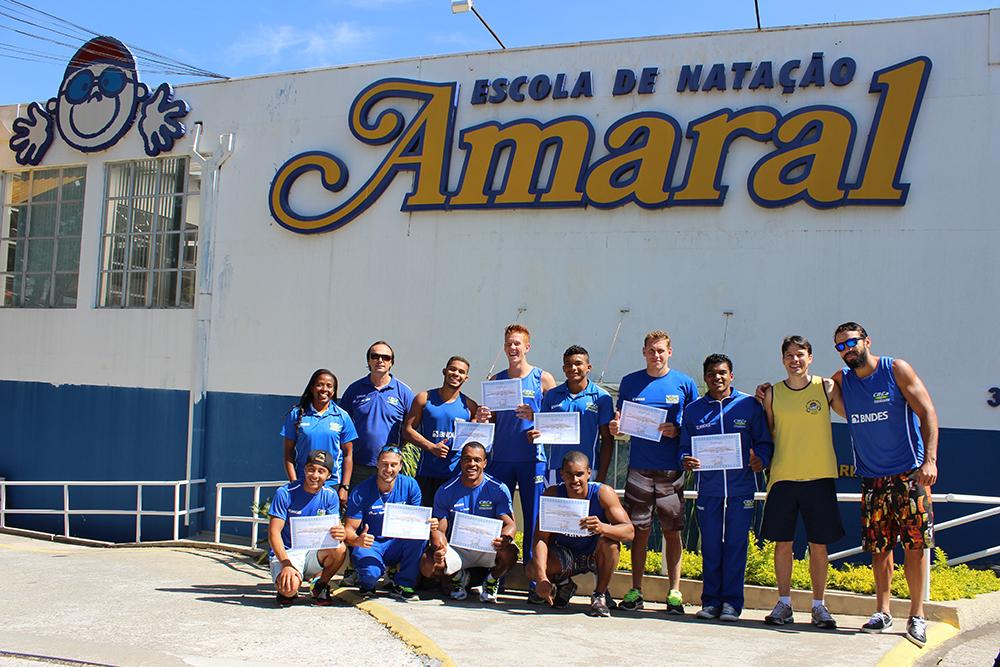 Amaral Natação aprimora noções aquáticas de atletas da Seleção Brasileira de Canoage
