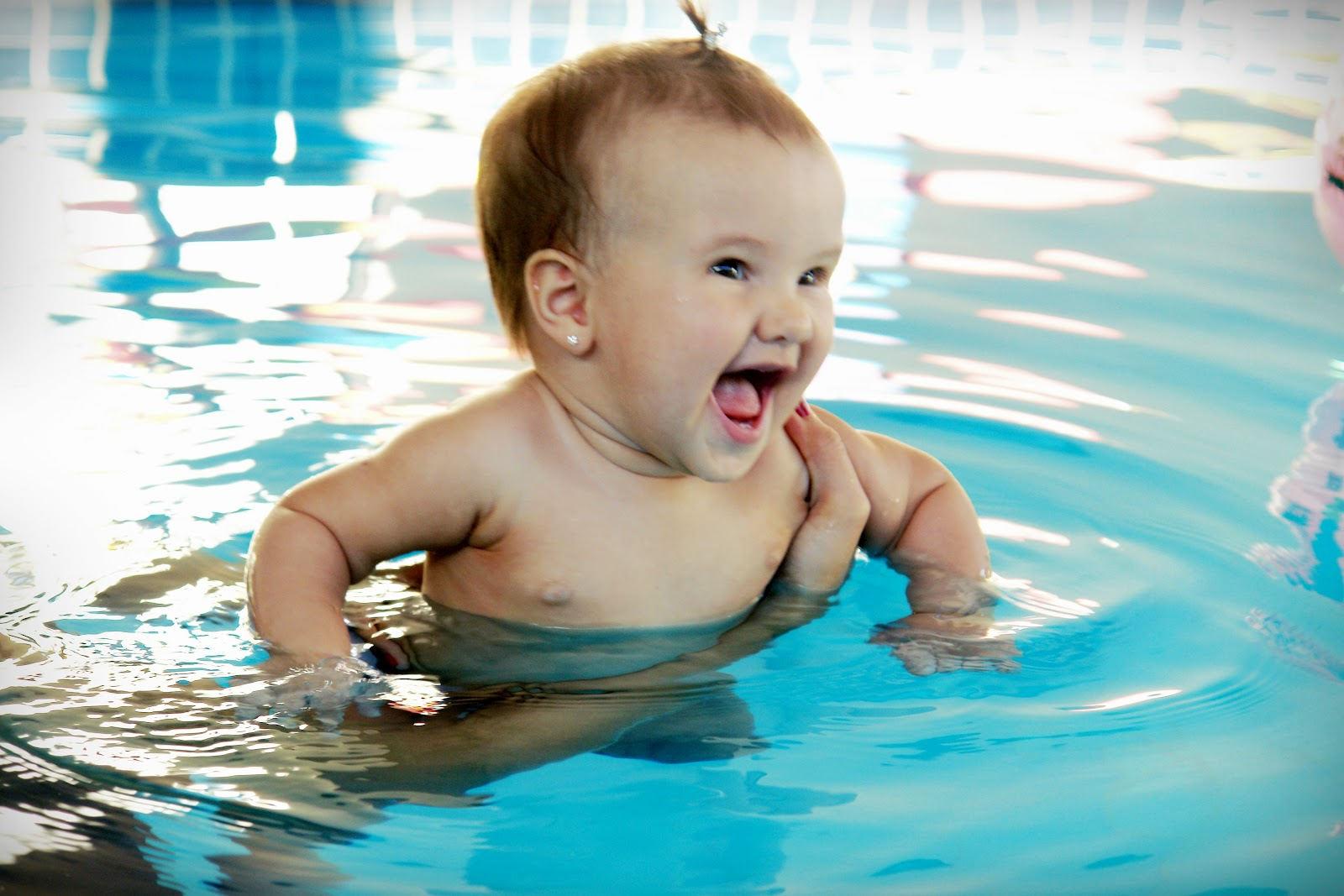 natação para bebes